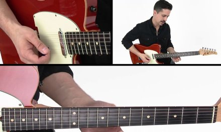 30 Modern Country Licks – #11 Bend Thing – Guitar Lesson – Corey Congilio