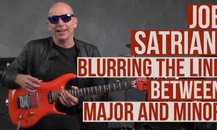 Joe Satriani Guitar Lesson – Mixing Major and Minor