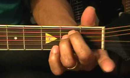 Guitar Chord Form Tutorial #179(178) America & MJ Style Chords Lesson EricBlackmonMusic