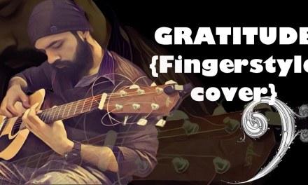 GRATITUDE – Amin Toofani Cover( Fingerstyle cover) | Guitar Lesson  |Cover | Tabs in discription