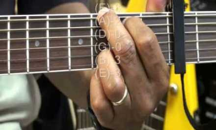How To Play Eliza Doolittle Style Chords Guitar Tutorial #72 Capo3 F D A7sus4