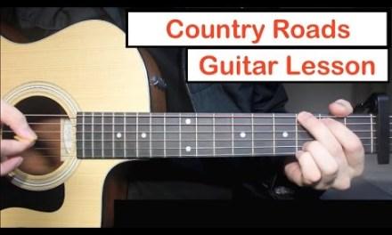 John Denver – Take Me Home, Country Roads | Guitar Lesson (Tutorial) How to play Chords