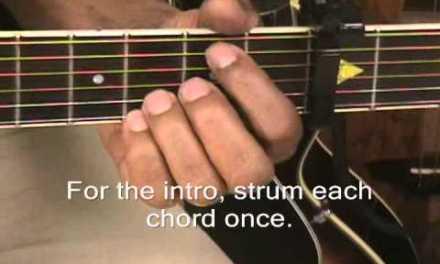 Florida Georgia Line Cruise Guitar Lesson Play 3 Ways Capo 3 + No Capo + Solo