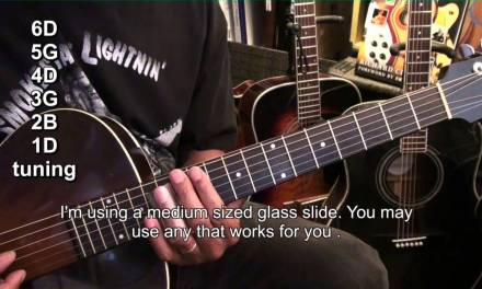 How To Play TRUE BLUES Son House Style Open G Slide Guitar Prep Tutorial Lesson EricBlackmonMusicHD