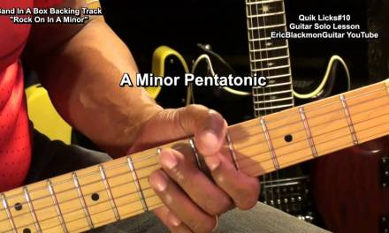 Quik Licks #10 Easy  Guitar Solo Riff Lesson Tutorial FunkGuitarGuru Funky USA
