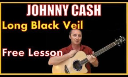 How To Play Long Black Veil by Johnny Cash – Free Lesson