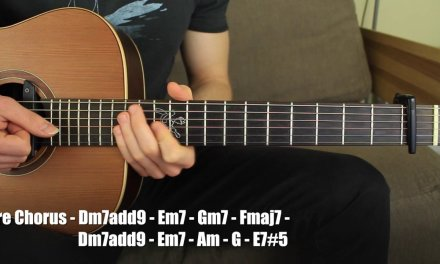 That's what I Like by Bruno Mars Acoustic Guitar Lesson (accurate chords)