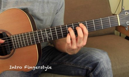 My Way Calvin Harris Acoustic Guitar Lesson Fingerstyle Tutorial