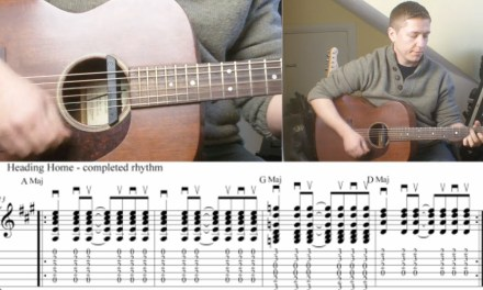 Advancing Guitar Lesson 3 Right Hand Rhythm Patterns