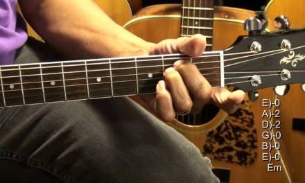 How To Play The Judge Chord Shapes On Guitar Tutorial #311 Twenty One Pilots EricBlackmonMusicHD