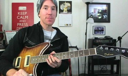 Single String Minor Pentatonic Guitar Scale Lesson – Rock Riff & Soloing Tutorial