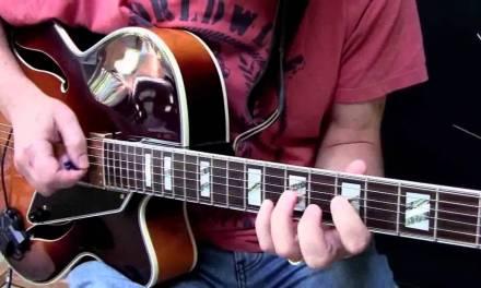 Moondance – Jazz Guitar