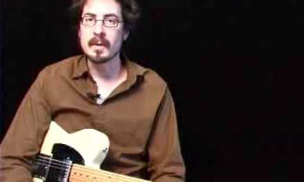 Guitar Lessons – Blues Alchemy – David Hamburger – Swamp Funk Solo 1