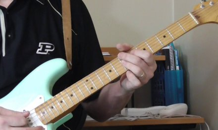 Clarence Green Guitar Lesson – Crazy Strings Part 2