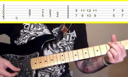 Candlebox – Far Behind Guitar Tutorial w/TABS