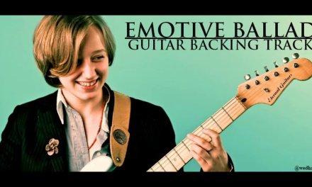 Emotive Ballad – Guitar Backing Track