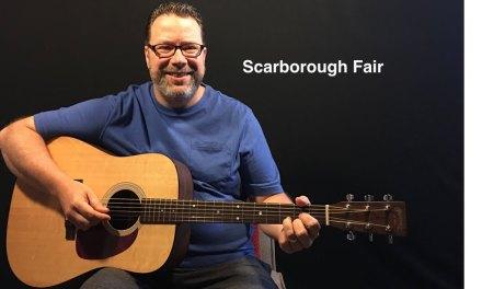 Scarborough Fair- guitar lesson Relaxandlearnguitar.com
