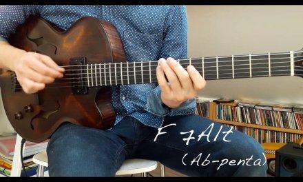 Jazz Guitar Mini Lesson # 12 – Pentatonic approach to a II V I