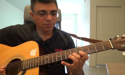 La Playa Instrumental (Composer: Claude Ciari – French) Guitar lead and chord lesson by Suresh