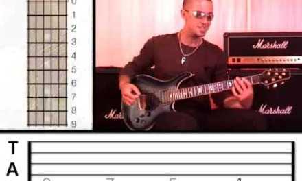 Guitar Lesson 8 – Rock Power Chords (www.vGuitarLessons.com)