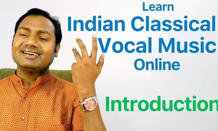 """Introduction """"Indian Classical Vocal Music Lessons/Tutorials Online"""" By Mayoor"""