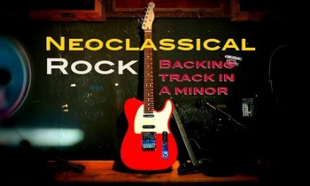 Neoclassic Ballad Guitar Backing Track in A Minor 85 Bpm