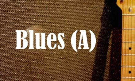 B.B. King Style Blues Backing Track (A)