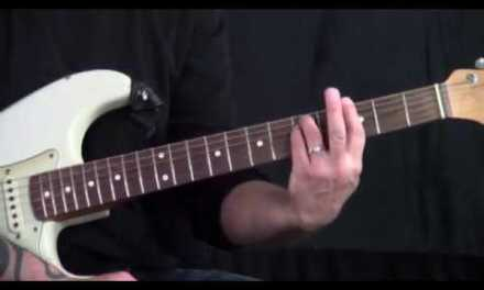 Steve Stine Guitar Lesson – How to Play Barre Chords Part 2