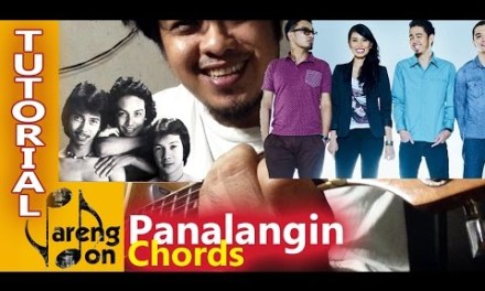 Panalangin Chords: Moonstar 88 and APO versions. OPM chords acoustic guitar tutorial
