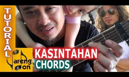 Jireh Lim: Chords of 'KASINTAHAN' guitar tutorial by Pareng Don