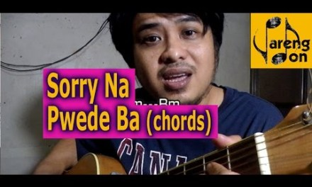 OPM (Chords) Sorry Na Pwede Ba (Rico J Puno) PDByREQUEST – OPM guitar chords