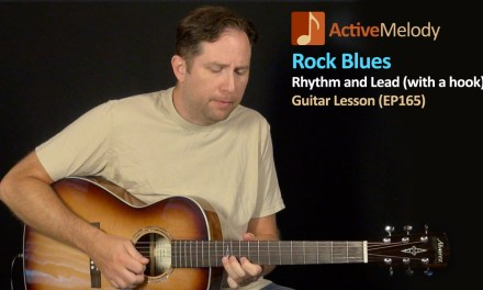 Rock Blues Guitar Lesson (With catchy riff) – Blues Rhythm and Lead Guitar Lesson – EP165