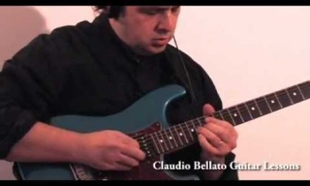 Jazz rock guitar lesson:Giant Steps, by Claudio  Bellato