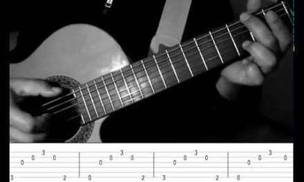 Hallelujah – Jeff Buckley – Easy Fingerstyle/Arpeggio guitar with TAB