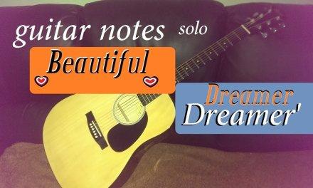 'Beautiful Dreamer' guitar fingers