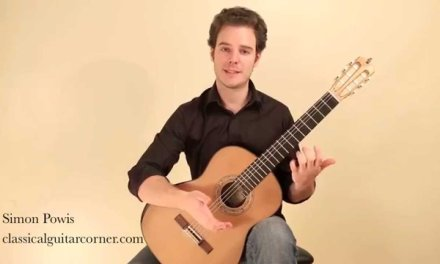 L314 Legato Shifting on the classical guitar