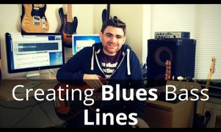 How To Create Blues Bass Lines Using Pentatonics