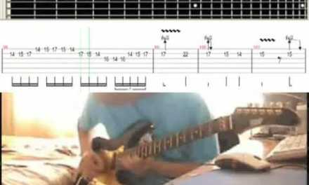 'Canon Rock' Slow Motion – Video Tab Guitar Lesson (75% Tempo)