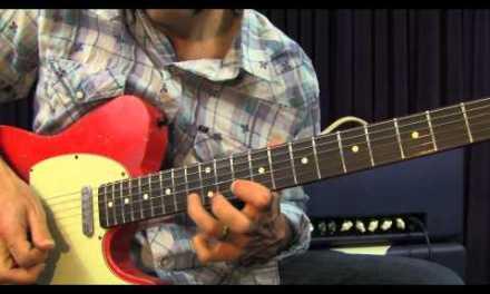 Bryan Adams – Cuts Like A Knife – Guitar Lesson