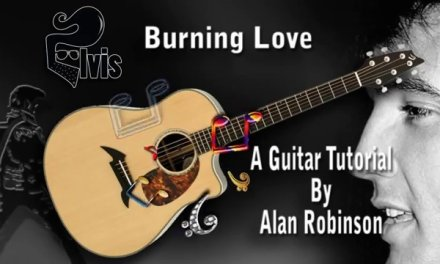 Burning Love – Elvis – Acoustic Guitar Lesson (easy – ish)