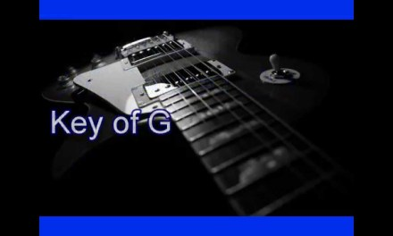 Guitar Backing Track – Soft Relaxed Blues in G – 90 bpm