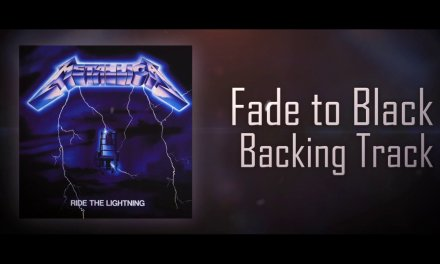 "Metallica ""Fade to Black"" Backing Track"