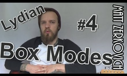 BOX MODES #4 – Lydian Scale Guitar Lesson