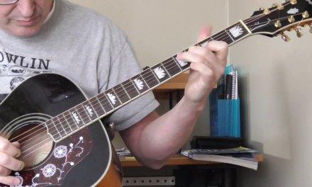 Lonnie Johnson Guitar Lessin – Turnaroud in D