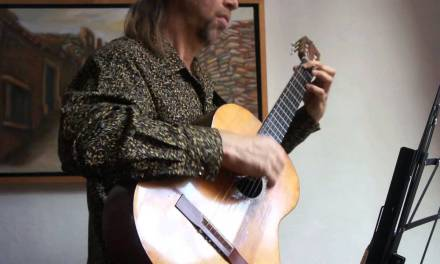 Blues played on classical guitar by Andrei Krylov
