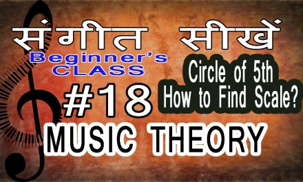 Basic Music Theory Lessons for Beginners in Hindi 18 Finding Scale from Circle of 5th