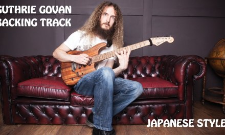 Guthrie Govan Backing Track | Japanese Style | Creative Guitar 2