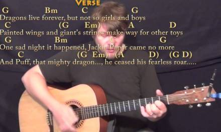 Puff the Magic Dragon – Strum Guitar Cover Lesson in G with Chords/Lyrics