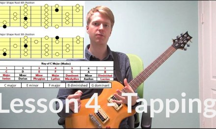 How to Tap Effectively – Guitar Tapping Exercises