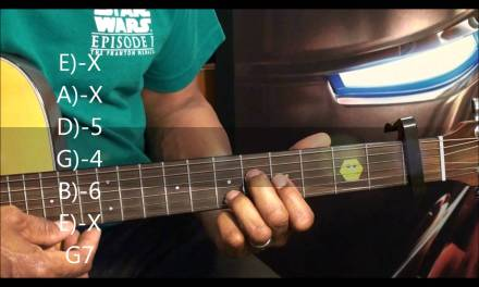 Guitar Chord Shapes Tutorial #209 Guardians Beamed In From Outer Space